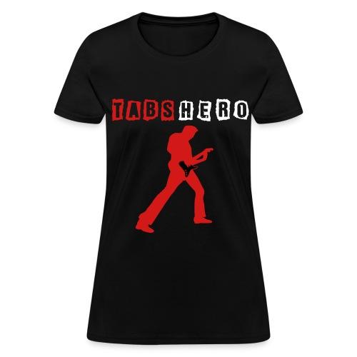 Tabs Hero Black Women Shirt - Women's T-Shirt