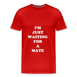 I'm Just Waiting For A Mate  - Men's Premium T-Shirt