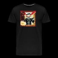 T-Shirts ~ Men's Premium T-Shirt ~ Bacon and Clam Pizza Men's T-Shirt