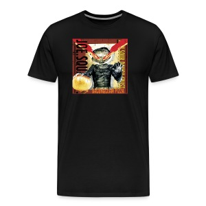 Bacon and Clam Pizza Men's T-Shirt - Men's Premium T-Shirt