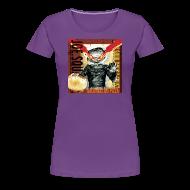 T-Shirts ~ Women's Premium T-Shirt ~ bacon and clam pizza women's shirt