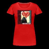 T-Shirts ~ Women's Premium T-Shirt ~ meat lovers pizza women's shirt