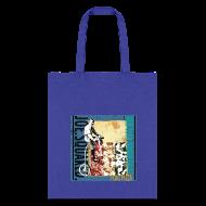 Bags & backpacks ~ Tote Bag ~ flag pizza tote bag