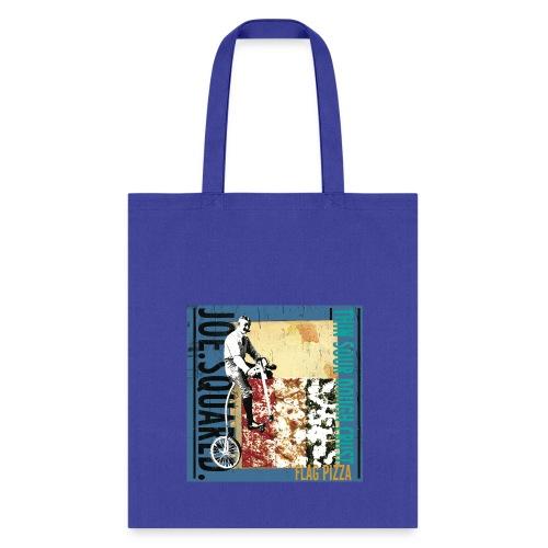 flag pizza tote bag - Tote Bag