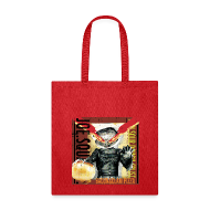 Bags & backpacks ~ Tote Bag ~ bacon and clam pizza tote bag
