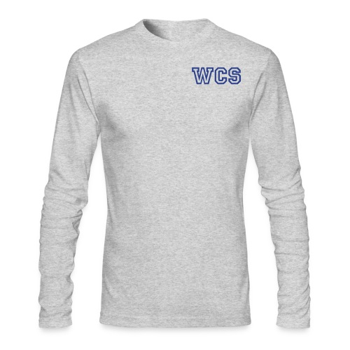 Men's WCS Longsleeve 1 - Gray - Men's Long Sleeve T-Shirt by Next Level