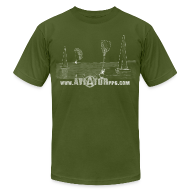 T-Shirts ~ Men's T-Shirt by American Apparel ~ Article 14660193