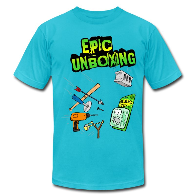 Epic Unboxing - Men's T-Shirt by American Apparel