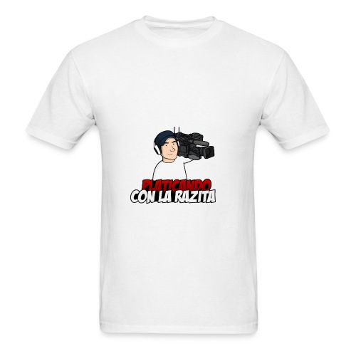 Platicando con la Razita - Men's T-Shirt