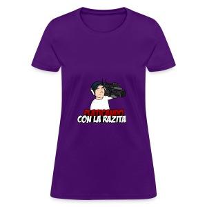 Platicando con la Razita - Women's T-Shirt