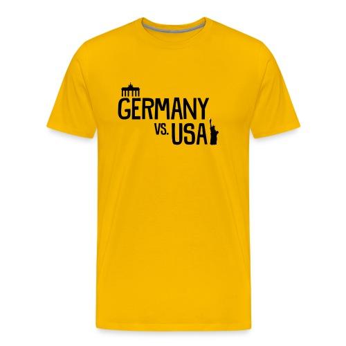 Germany vs USA - Men's Premium T-Shirt