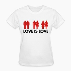 Love Is Love Women's T-Shirts