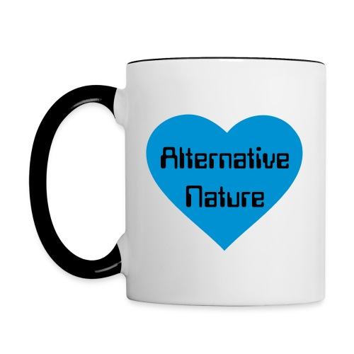 AltNat Blue Heart Mug - Contrast Coffee Mug