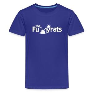Kid's Shirt White Letters - Kids' Premium T-Shirt