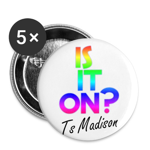 Is it on Pin - Buttons large 2.2'' (5-pack)