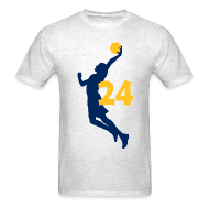 T-Shirts ~ Men's T-Shirt ~ George SUPERSTAR #24 Pacers Shirt