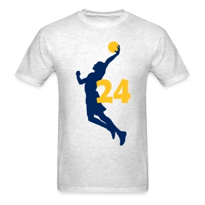 George SUPERSTAR #24 Pacers Shirt  - Men's T-Shirt