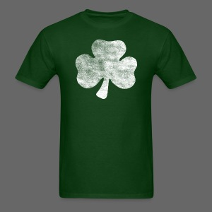Distressed Irish Shamrock  - Men's T-Shirt