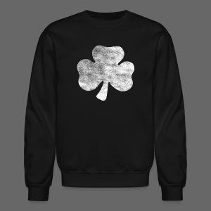 Distressed Irish Shamrock  - Crewneck Sweatshirt
