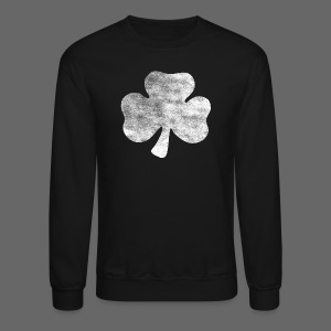 Distressed Irish Shamrock  - Crewneck Sweatshirt