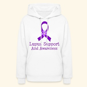 Lupus Support and Awareness Hoodie - Women's Hoodie