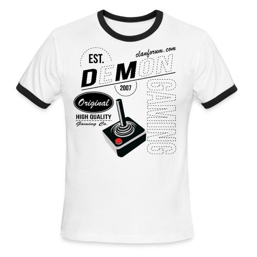 retro DM gaming v3 - Men's Ringer T-Shirt