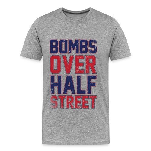 Bombs Over Half Street Men's T - Men's Premium T-Shirt