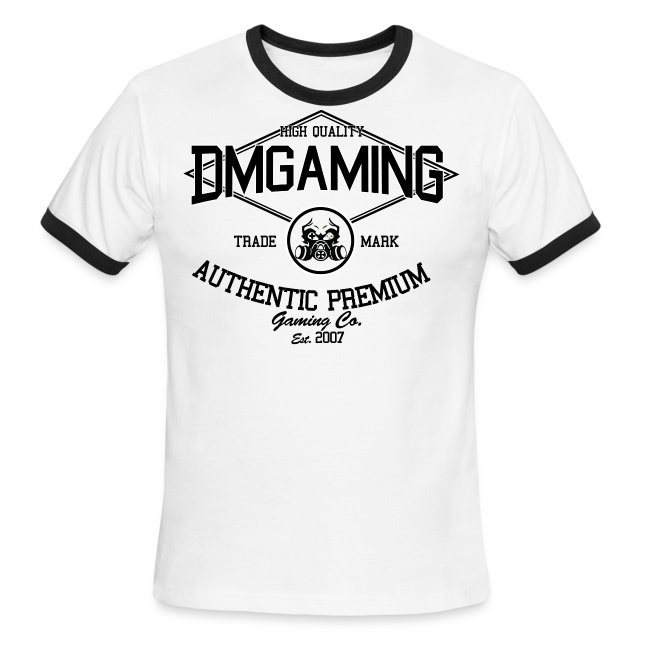 a34f5202f DeMon Gaming | retro DM gaming v1 - Mens Ringer T-Shirt