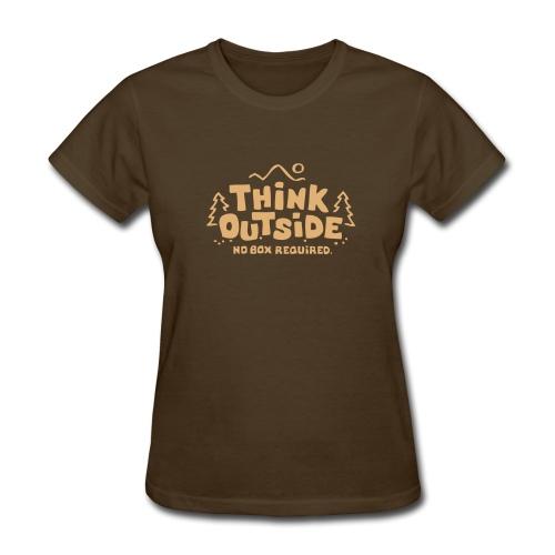 Outside - Women's T-Shirt