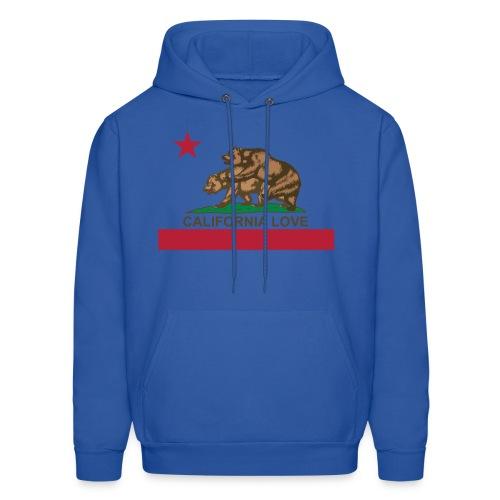California Love Men's Sweatshirt! - Men's Hoodie