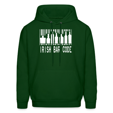 Irish Barcode Hoodies