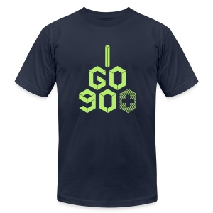 I Go 90+ Men's Tee - Men's T-Shirt by American Apparel