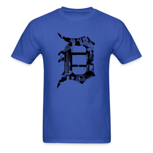 Detroit Grunge - Men's T-Shirt