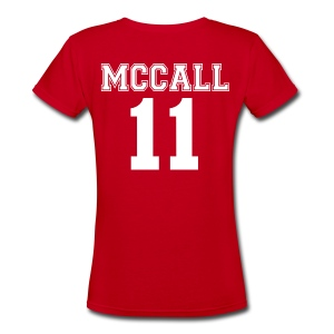 Beacon Hills Lacrosse - V-Neck (Scott) - Women's V-Neck T-Shirt