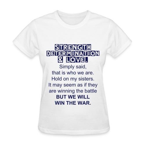 SPWF Quote Tee - Women's T-Shirt