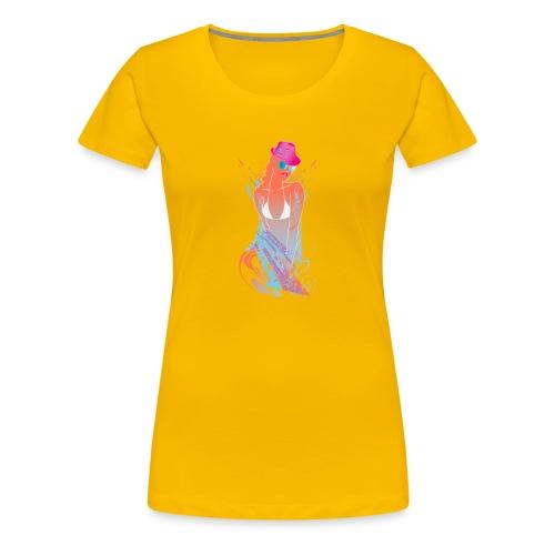 South Beach Bella - Women's Premium T-Shirt
