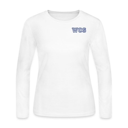 Women's WCS Longsleeve 1 - White - Women's Long Sleeve Jersey T-Shirt