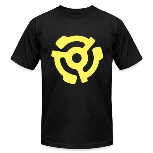 Black 45 Adapter tee - Men's  Jersey T-Shirt