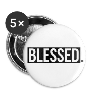 BLEESED PIN. - Large Buttons