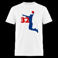 T-Shirts ~ Men's T-Shirt ~ 32supblk