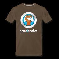 T-Shirts ~ Men's Premium T-Shirt ~ Power to the Game Fanatics M Tee
