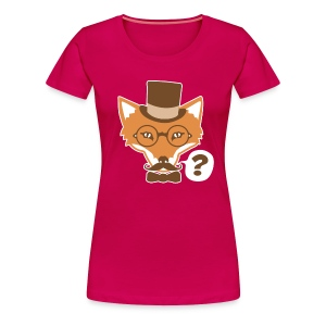 Fox Says What - Women's Premium T-Shirt