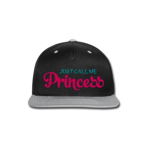 navy princess snap back - Snap-back Baseball Cap