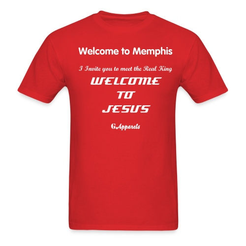 Godly Apparels  Welcome to Memphis  1 - Men's T-Shirt