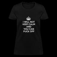 Women's T-Shirts ~ Women's T-Shirt ~ Keep Calm Womens