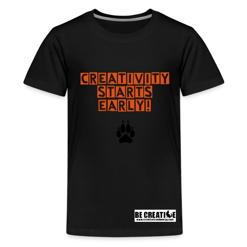 Creativity Starts Early! - Kids' Premium T-Shirt