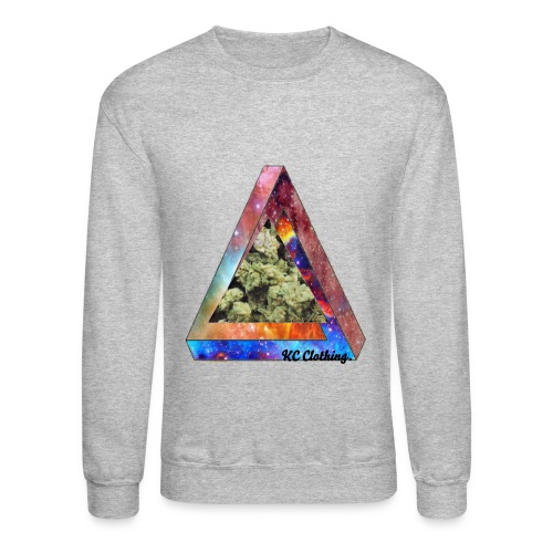 Kush Galaxy - Graphic Sweater - Crewneck Sweatshirt