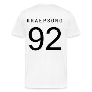 Double Sided Kkaepsong - Men's Premium T-Shirt