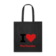 Bags & backpacks ~ Tote Bag ~ I Love PerTarsha Tote Bag