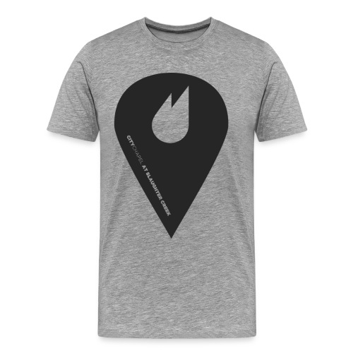City Chapel Icon BLACK - Men's Premium T-Shirt